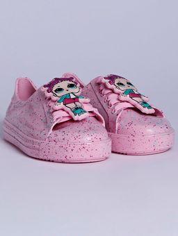 Tenis-Infantil-LOL-Colors-Infantil-para-Menina---Rosa