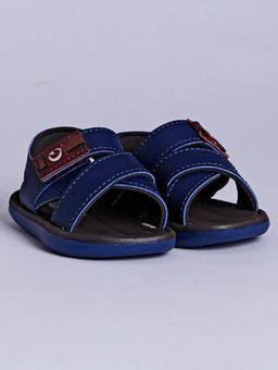 Sandalia-Cartago-Mali-XI-Infantil-para-Bebe-Menino---Azul-marrom