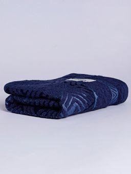 Toalha-de-Rosto-Karsten-Azul-Marinho