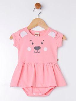 Vestido-Body-Infantil-Para-Bebe-Menina---Salmao-P