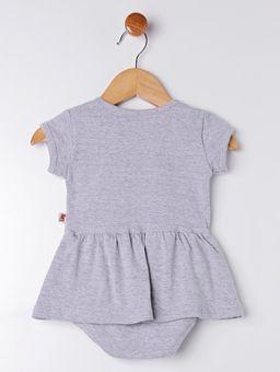 Vestido-Body-Infantil-Para-Bebe-Menina---Cinza-P