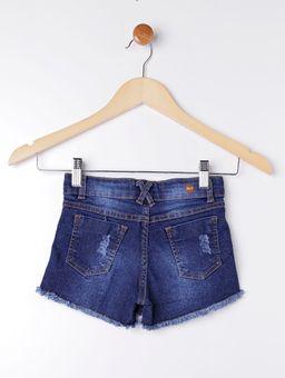 Short-Saia-Jeans-Infantil-para-Menina---Azul