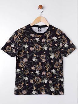Camiseta-Manga-Curta-Juvenil-Para-Menino---Preto-amarelo-16