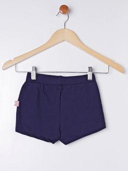 Short-Saia-Moletinho-Infantil-para-Menina---Azul-Marinho