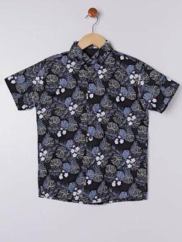 Camisa-Manga-Curta-Juvenil-Para-Menino---Preto-estampado-16