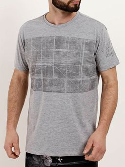 Camiseta-Manga-Curta-Masculina-Dixie-Cinza-P