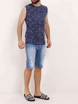Camiseta-Regata-Masculina-Azul-Marinho-P