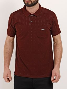 Polo-Manga-Curta-Masculina-No-Stress-Bordo-P