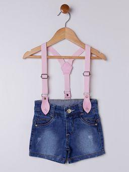 Short-Jeans-com-Suspensorio-Infantil-para-Menina---Azul