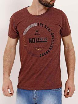 Camiseta-Slim-Manga-Curta-Masculina-No-Stress-Bordo
