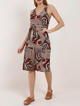 Vestido-Curto-Feminino-Autentique-Bege