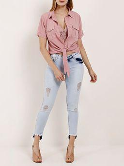 -Camisa-Manga-Curta-Feminina-Rosa-P