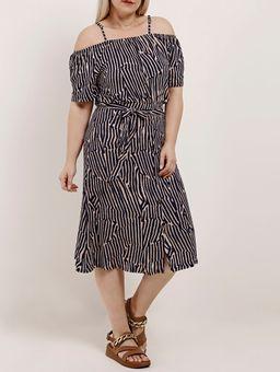 Blusa-Ciganinha-Plus-Size-Feminina-Autentique-Azul-Marinho-bege