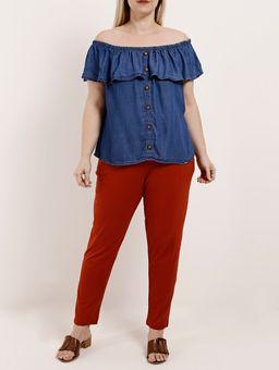 Blusa-Ciganinha-Plus-Size-Feminina-Azul-EXG