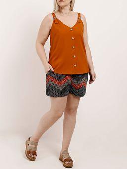 Blusa-Regata-Plus-Size-Feminina-Caramelo-G2