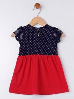 Vestido-Infantil-Para-Bebe-Menina---Vermelho-azul-Marinho-MB