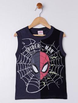 Camiseta-Regata-Spider-Man-Infantil-Para-Menino---Chumbo-6