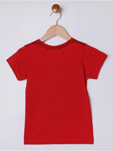 Camiseta-Manga-Curta-Infantil-Para-Menino---Vermelho-1
