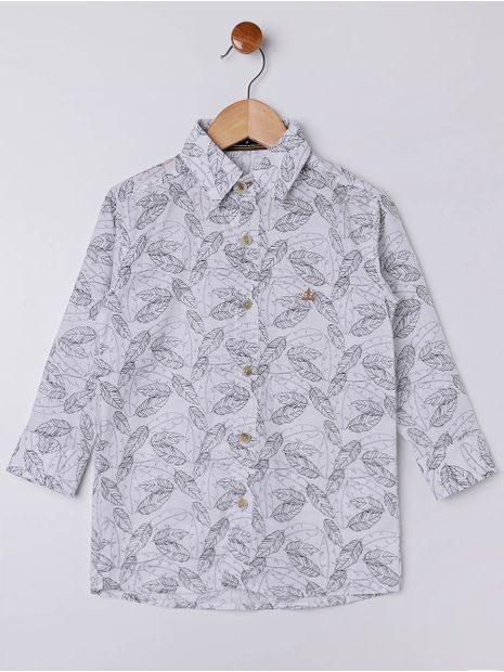 Camisa-Manga-Longa-Infantil-Para-Menino---Branco-preto-6