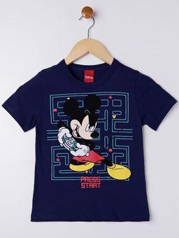 Camiseta-Manga-Curta-Disney-Infantil-Para-Menino---Azul-Marinho-6