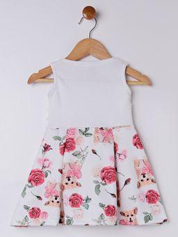 Vestido-Infantil-Para-Bebe-Menina---Bege-rosa-P