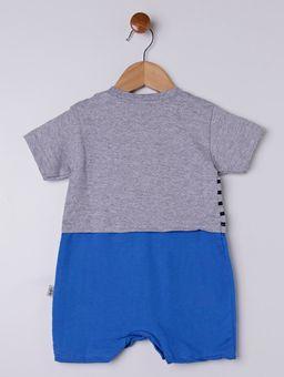 Macacao-Infantil-Para-Bebe-Menino---Cinza-azul-P