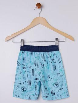 Bermuda-Estampada-Infantil-para-Menino---Azul