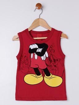 Camiseta-Regata-Disney-Infantil-Para-Menino---Vermelho-1