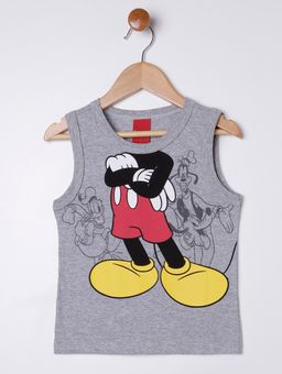 Camiseta-Regata-Disney-Infantil-Para-Menino---Cinza-1