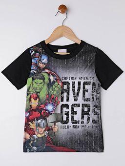 Camiseta-Manga-Curta-Avengers-Infantil-Para-Menino---Preto-6
