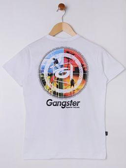 Camiseta-Manga-Curta-Gangster-Juvenil-Para-Menino---Branco-16