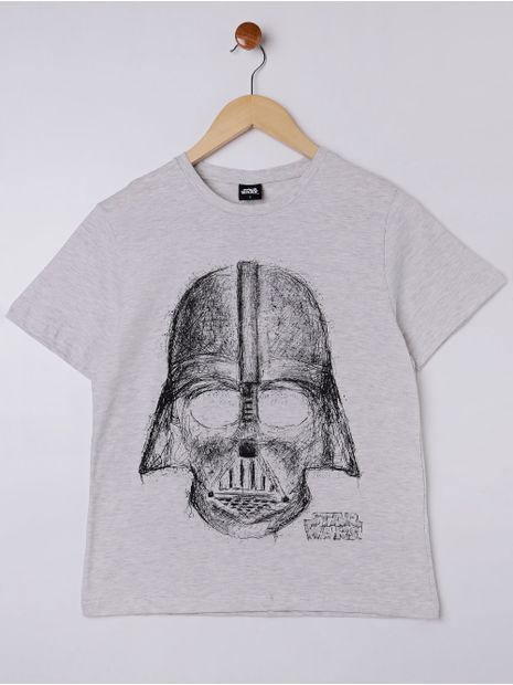 Camiseta-Manga-Curta-Star-Wars-Juvenil-Para-Menino---Cinza-16