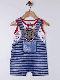 Macacao-Infantil-Para-Bebe-Menino---Azul-vermelho-P