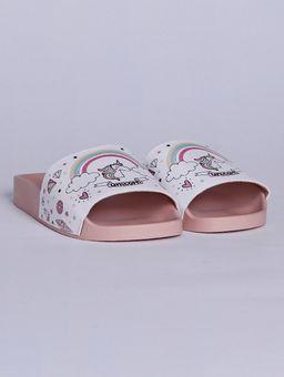 Chinelo-Slide-Molekinha-Unicornio-Infantil-para-Menina---Branco