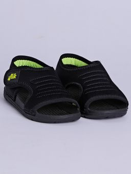 Sandalia-Papete-Flik-Infantil-para-Menino---Preto