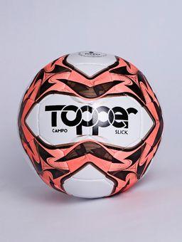 Bola-de-Campo-Topper-Slick-Branco-vermelho