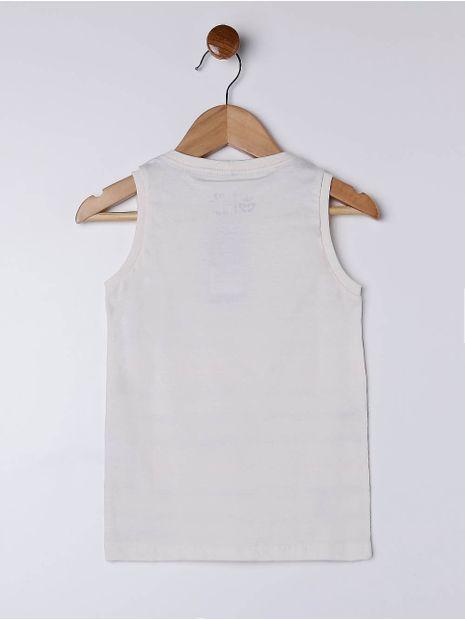 Camiseta-Regata-Infantil-Para-Menino---Bege-1