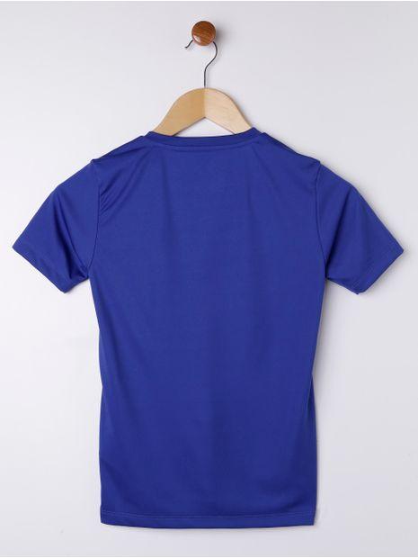 Camiseta-Manga-Curta-Topper-Juvenil-para-Menino---Azul