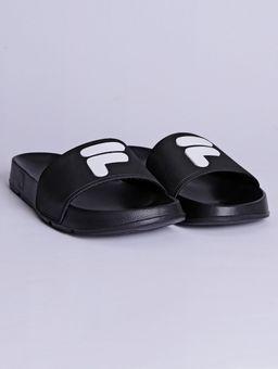 Chinelo-Slide-Masculino-Fila-F-Slider-2.0-Preto-branco