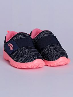 Tenis-Flik-Infantil-Para-Menina---Azul-Marinho-coral-20
