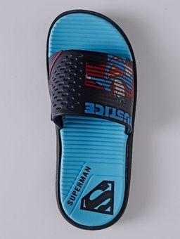 Chinelo-Slide-Liga-da-Justica-Infantil-para-Menino---Azul