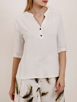 Z-\Ecommerce\ECOMM\FINALIZADAS\Feminino\122651-blus-mga-3-4-adulto-autentique-visco-lisa-c-botao-off-white