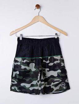 Bermuda-Camuflada-Federal-Art-Juvenil-para-Menino---Preto-verde