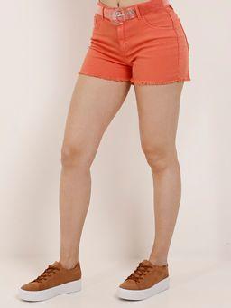 Z-\Ecommerce\ECOMM\FINALIZADAS\Feminino\122760-short-sarja-adulto-play-denim-coral-c-cinto-transpra-laranja