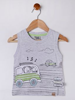 Conjunto-Infantil-Para-Bebe-Menino---Cinza-azul-Marinho-M