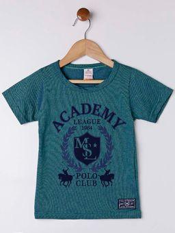 Camiseta-Manga-Curta-Infantil-Para-Menino---Verde-1
