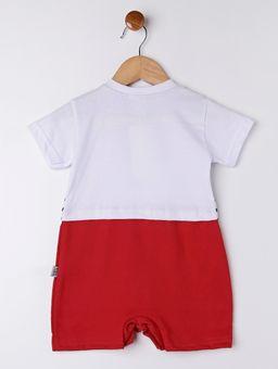 Macacao-Infantil-Para-Bebe-Menino---Branco-vermelho-P