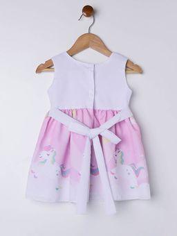 Vestido-Infantil-Para-Bebe-Menina---Branco-rosa-P