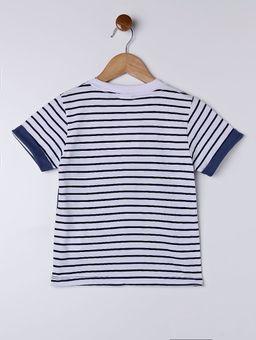 Camiseta-Manga-Curta-Infantil-Para-Menino---Azul-branco-1