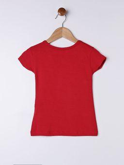 Blusa-Manga-Curta-Infantil-para-Menina---Vermelho